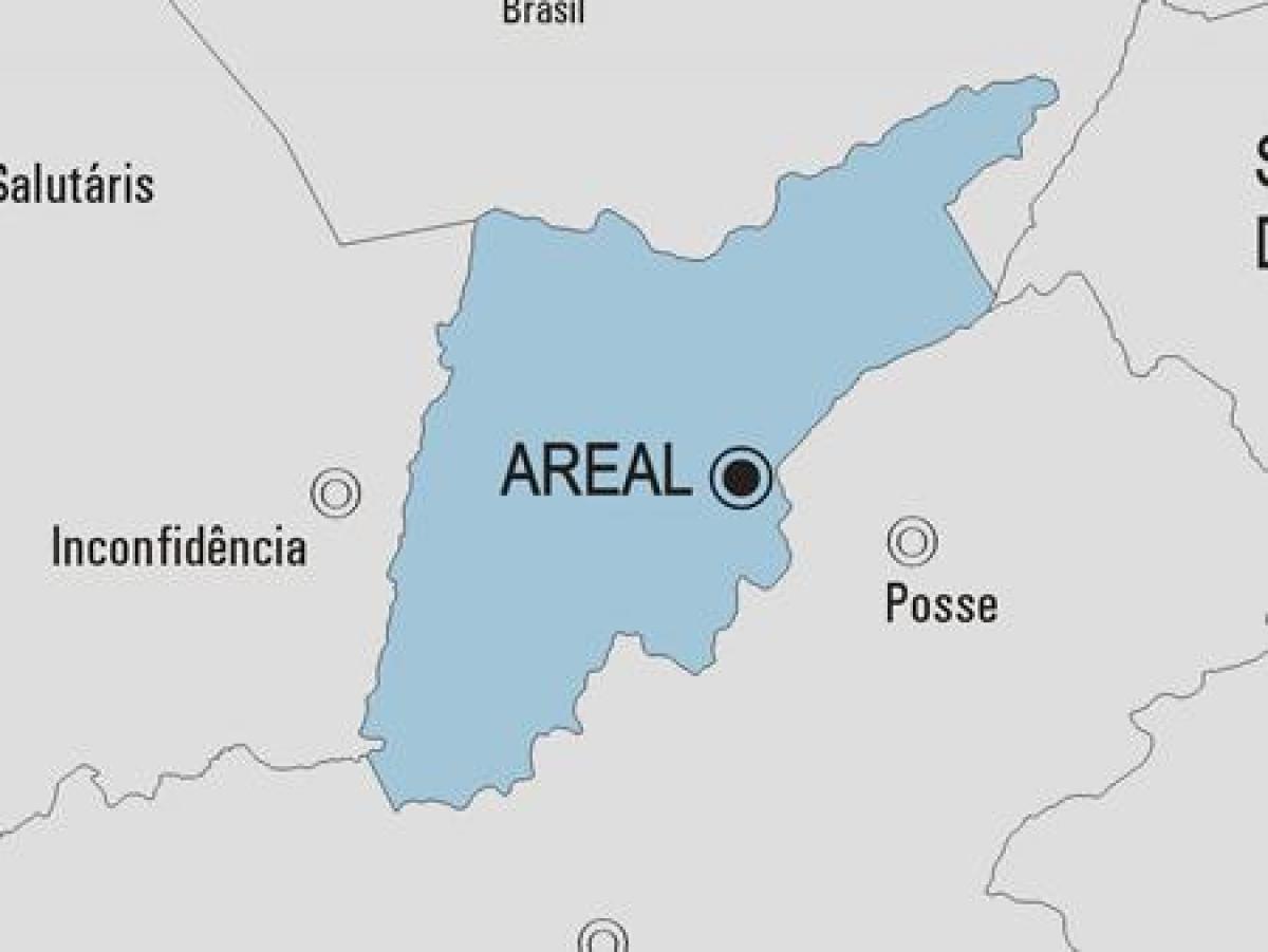 Areal Rio de Janeiro fonte: fr.map-of-rio-de-janeiro.com