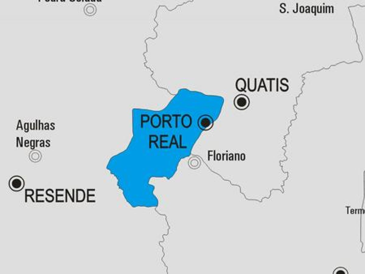 Carte municipalité Porto Real